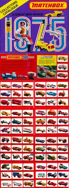 I had so many Matchbox and Hot Wheels cars over the years, I've forgotten which ones I had but I'm sure I had a bunch of these. Matchbox Autos, Matchbox Cars, 1970s Toys, Retro Toys, Childhood Toys, Childhood Memories, Vintage Advertisements, Vintage Ads, Vintage Posters