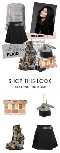 """""""Fashion Icon: Kylie"""" by tattooedmum on Polyvore featuring Sephora Collection, 10 Crosby Derek Lam, KTZ, Alexander McQueen, plaid and contestentry"""