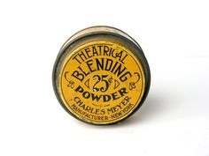 Antique Theatrical Powder Tin Charles Meyer Theater by veraviola, $75.00