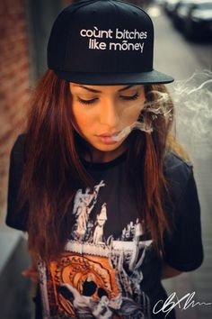 Sexy Stoner Girl - CannabisTutorials.com