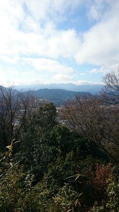 津久井城山から
