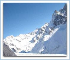 A Ski Adventure in Chamonix down the Vallee Blanche. More on http://www.ski-chamonix.net/adventure-in-chamonix.html