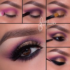 Stunning work by IG'er: @elymarino using her Party Girl After Hours Eyeshadow Palette: http://bit.ly/1DktvA8
