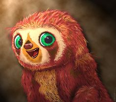 My favorite little animated baby sloth belt from the croods d the croods characters hd desktop wallpaper widescreen high voltagebd Images