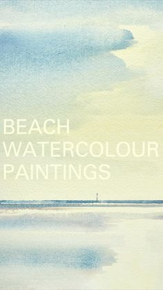 Watercolor Water, Abstract Watercolor, Seascape Paintings, Watercolor Paintings, Watercolor Pictures, Watercolor Ideas, Art Paintings For Sale, Original Art For Sale, Watercolor Techniques