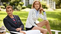 I have the most recent catalogue for Gant, and it gives me inexplicably intense feelings... Also, that women's striped blazer is impeccably constructed and blows the one I have out of the water by a good mile.