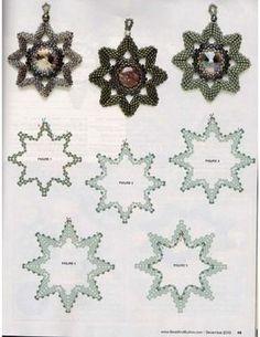 Схемы: Амулеты и бубочки. Архив Beads & Button 2007-2011 гг