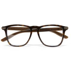 Bottega Veneta Square-Frame Acetate Optical Glasses
