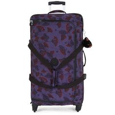 b90904b3eb935 Kipling Cyrah Large Printed Rolling Luggage One Size Floral Night
