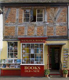 Quaint Bookstore in UK