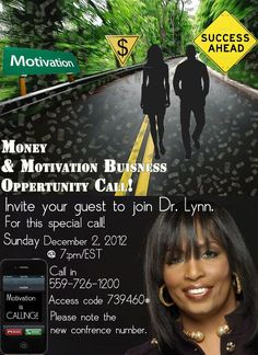 As we prepare for the Holiday Season are you in need of some MONEY & MOTIVATION!! If so be my Guest on a Special Call with Dr. Traci Lynn (CEO of Traci Lynn Fashion Jewelry) Don't Miss this Opportunity to hear from Dr. Lynn a women who is living all her dreams. How about you ?  After Call Contact Me for more Info!!