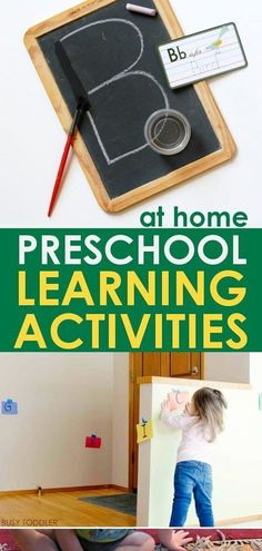 These toddler activities for 2 year olds, 3 year olds, and 4 year olds are the perfect diy at home choices for games, crafts, and activities for preschool children! These learning activities create fu… - Preschool Children Activities Educational Activities For Toddlers, 4 Year Old Activities, Indoor Activities For Kids, Montessori Activities, Kids Learning, Children Activities, Indoor Games, Learning Games, Baby Activities