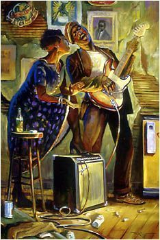"""Soul Mates"" by John C. Doyle...Love when music comes alive through art!"