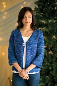 Bellflower #Cardigan - from the Spring 2015 Issue of Love of #Knitting magazine