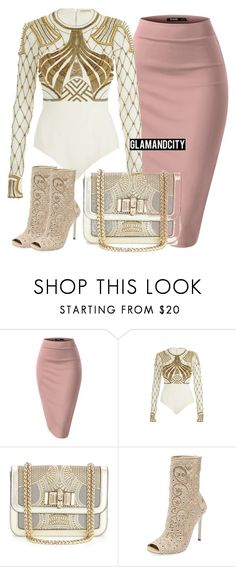"""Untitled #353"" by glamandcity ❤ liked on Polyvore featuring sass & bide, Christian Louboutin and René Caovilla"