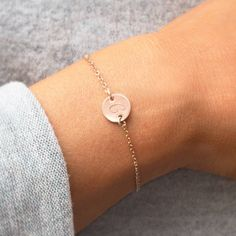 The Personalised Initial Disk Bracelet is a stunning modern design available in silver and rose gold with an engraved initial of your choice.You can choose to add to your order an initial notebook. The Personalised Initial Notebook is a beautiful notebook with paper cut design and gold edged pages. The notebook has a shiny gold finish to the edges of the pages for that added luxury. Our personalised disk bracelet is a beautifully delicate disk on a fine chain bracelet. Giving a modern and…