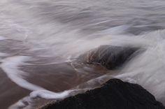Piedra en el agua. Sasso nell'acqua.
