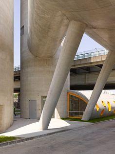 Silos 13 by VI.B Architecture   Exterior photography by Stéphane Chalmeau, interior photography by Daniel Moulinet.