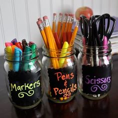 chalkboard cups