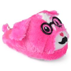 Dress your little animal in cozy animal slippers by Journee Kids. These fun…