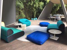Ola outdoor sofa by Ramos Bassols for Paola Lenti