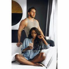 20 Ideas fitness model couples for 2019 Interracial Family, Interracial Wedding, Black Woman White Man, Black Love, Cute Couples Goals, Couple Goals, Couple Noir, Biracial Couples, Interacial Couples