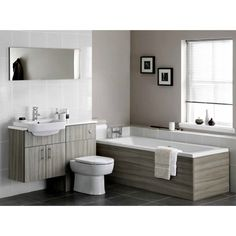 Clean And Simple Design To Suit Any Contemporary Style Of Bathroom Ideal For A More