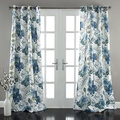 "Lush Decor Floral Paisley Window Curtain Panel (Set of 2), 84 x 52"", Blue Lush Decor http://www.amazon.com/dp/B00WI0D5E8/ref=cm_sw_r_pi_dp_ghZEvb18YWMNN"