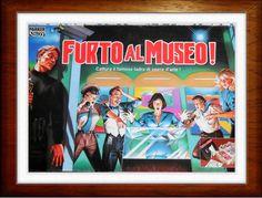 FURTO AL MUSEO PARKER RARO 1993 Cattura il ladro di opere d arte gioco da tavola