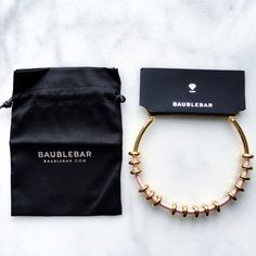 1a6d8b462ef ⚬Baublebar⚬Threaded Abacus Collar Necklace You will love this necklace!  It s so versatile