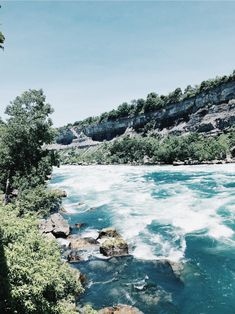 White water boardwalk #water #explore Niagara Falls, River, Explore, Outdoor, Outdoors, Outdoor Games, The Great Outdoors, Rivers, Exploring