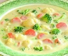 Gemüsesuppe super lecker und sättigend.