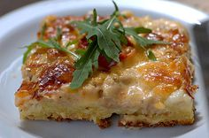 Tonnikala-mozzarellapiiras Chef's Choice, Bruschetta, Mozzarella, Lasagna, Quiche, Favorite Recipes, Healthy Recipes, Cooking, Breakfast