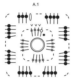 "Rocky Path - Virkattu DROPS ruutupeitto ""Fabel""-langasta. - Free pattern by DROPS Design"