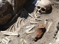 Bulgarian archaeologists have discovered a buried man with an iron stick in his chest in the Black Sea town of Sozopol. The man, who was buried over 700 years ago, was stabbed multiple times in the chest and the stomach, as his contemporaries feared that he would raise from the dead as a vampire. Experts believe that the man may have been an intellectual or perhaps a medic, as such individuals often raised suspicions in the Middle Ages.