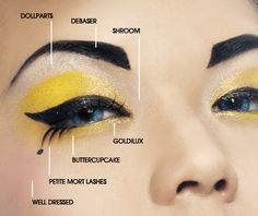 Killer Bee makeup tutorial, for halloween bee costume