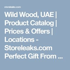 Wild Wood, UAE | Product Catalog | Prices & Offers | Locations - Storeleaks.com  Perfect Gift From Men! Wooden Watches And Glasses. Dubai Shopping, Product Catalog, Wooden Watch, Uae, Watches, Glasses, Gifts, Wooden Clock