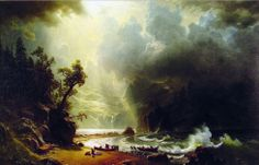 Puget Sound on the Pacific Coast - Albert Bierstadt, 1870