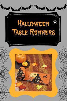 Halloween Table Runners