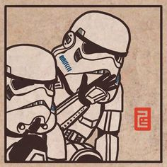 These troopers are you looking for? 친구의 사격술에 웃음이 터진다. More at : https://instagram.com/7b.hyeon/ http://7b-hyeon.tumblr.com/ Find : #starwars #stormtrooper #스타워즈 #더포스어워드 #illustration #artwork #スターウォーズ #イラスト #ストームトルーパー  #darthvader #7bhyeon