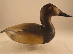 Ward Brothers Canvasback Duck Decoy Vintage Crisfield Maryland ca. 1930