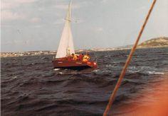 il glorioso Mou in navigazione. 1980