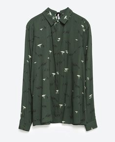Chemise Zara automne hiver 2015