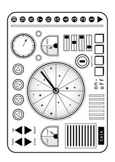 spaceship controls printables what�s a control panel you