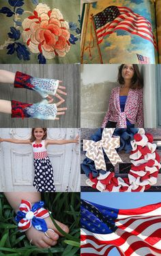 It's a Grand Old Flag by Christina Cramer on Etsy--Pinned with TreasuryPin.com #AmericanFlag #RedWhiteandBlue #Patriotic