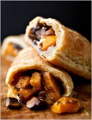 A Vegetable Wellington, Fit for a Duke: A Good Appetite, #Butternut, #Cheese, #Goat, #Vegetable