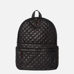 MZ WALLACE METRO QUILTED OXFORD NYLON BACKPACK BLACK - NWT #MZWALLACE #Backpack