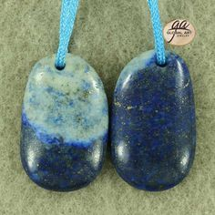 EA01414  Beautiful Lapis Lazuli Earring Bead by Artiststone