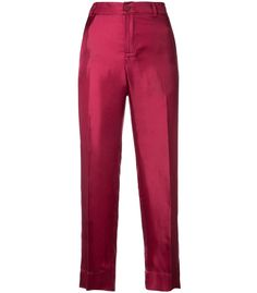 For Restless Sleepers Twill Brocade Agon Pant - Pink Straight Leg Silk Pant Pleated Pants, Silk Pants, For Restless Sleepers, Pajama Pants, Sweatpants, Legs, Pink, Shopping, Clothes