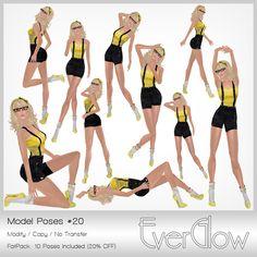 *EverGlow* - Girls Poses #20